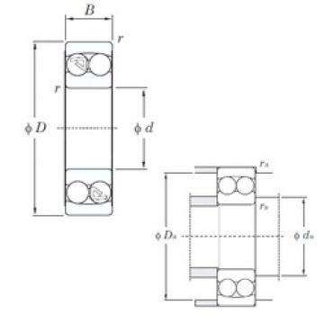 KOYO 2204 self aligning ball bearings