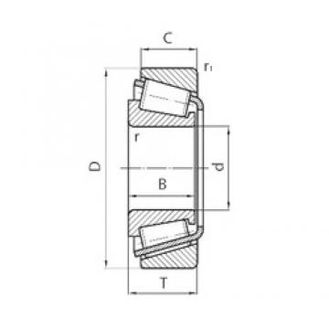 SKF BT1-0085/QCL7C tapered roller bearings