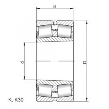 ISO 23940 KW33 spherical roller bearings