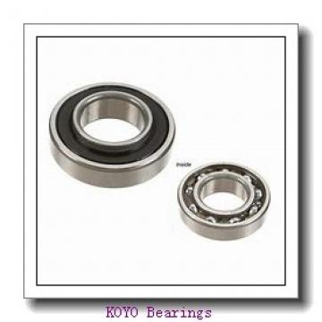 KOYO 6809-2RS deep groove ball bearings