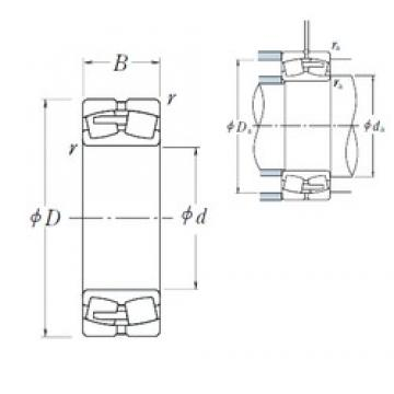 NSK 22256CAE4 spherical roller bearings